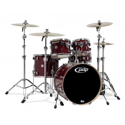 PDP Concept Maple By DW 22' / 5 Cuerpos / Cherry Stain / Sin Hardware