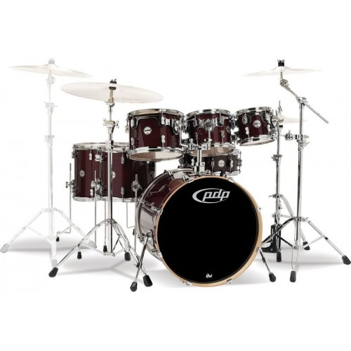 PDP Concept Maple By DW 22' / 7 Cuerpos / Cherry Stain / Sin Hardware